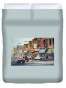 Fox Theater - Steven's Point Duvet Cover by Ryan Radke