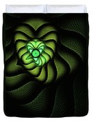 Fractal Cobra Duvet Cover by John Edwards