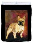 French Bulldog Duvet Cover by Kathleen Sepulveda