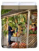 Fresh Fruits For The Day Duvet Cover by Heiko Koehrer-Wagner
