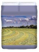 Freshly Mown Hay  Duvet Cover by John Trax
