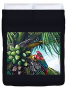Friends Of A Feather Duvet Cover by Karin  Dawn Kelshall- Best