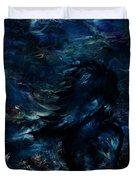 Full Moon Duvet Cover by Rachel Christine Nowicki
