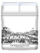 Funeral Obsequies Of President Lincoln Duvet Cover by War Is Hell Store