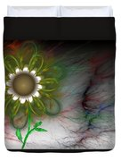 Funky Floral Duvet Cover by David Lane