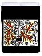 Fury Duvet Cover by Sarah Loft