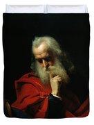 Galileo Galilei Duvet Cover by Ivan Petrovich Keler Viliandi