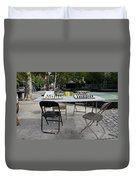Game Of Chess Anyone Duvet Cover by Terry Wallace