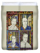 Gang Of Four Duvet Cover by Robert SORENSEN