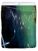 Gangplank Duvet Cover by Todd Krasovetz