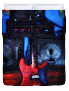 Garage Rock Duvet Cover by Bill Cannon