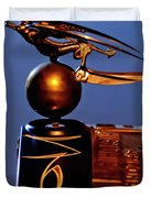 Gargoyle Hood Ornament 3 Duvet Cover by Jill Reger
