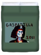 Gasparilla 2011 Work Number Two Duvet Cover by David Lee Thompson