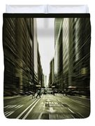 Gelati Rush Duvet Cover by Andrew Paranavitana