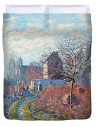 Gelee Blanche Duvet Cover by Alfred Sisley