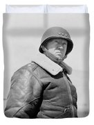 General George S. Patton Duvet Cover by War Is Hell Store