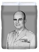 General James Doolittle Duvet Cover by War Is Hell Store
