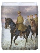 General John J Pershing  Duvet Cover by Jan van Chelminski
