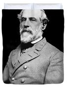 General Robert E Lee - CSA Duvet Cover by Paul W Faust -  Impressions of Light
