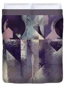 Geomix-04 - C57at22b2e Duvet Cover by Variance Collections