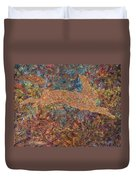 Ghost Of A Rabbit Duvet Cover by James W Johnson