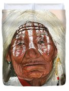 Ghost Shaman Duvet Cover by J W Baker