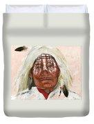 Ghost Shaman Duvet Cover by J W Baker