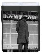 Ghosts Of Lambeau Duvet Cover by Tommy Anderson