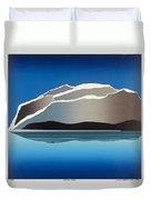 Glaciers Duvet Cover by Jarle Rosseland