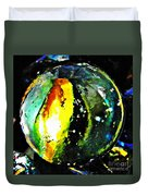 Glass Abstract 83 Duvet Cover by Sarah Loft