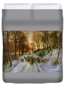 Glowed With Tints Of Evening Hours Duvet Cover by Joseph Farquharson