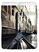 gondola - Venice Duvet Cover by Joana Kruse
