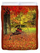 Gone With The Wind Duvet Cover by Diane E Berry
