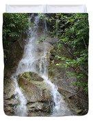 Gorge Creek Falls - North Cascades National Park Wa Duvet Cover by Christine Till