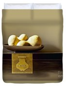Gourds Still Life I Duvet Cover by Kyle Rothenborg - Printscapes
