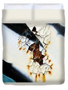Graffiti Texture II Duvet Cover by Ray Laskowitz - Printscapes