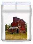 Grain Elevator Duvet Cover by Marty Koch