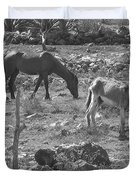 Grazing Duvet Cover by Michael Peychich