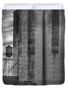 Great Western Sugar Mill Longmont Colorado Bw Duvet Cover by James BO  Insogna