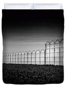 Greenhouse Duvet Cover by Dave Bowman