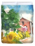 Greve in Chianti in Italy 01 Duvet Cover by Miki De Goodaboom
