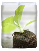 Growth Duvet Cover by Frank Tschakert