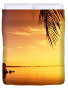 Guam, Agat Bay Duvet Cover by Dave Fleetham - Printscapes