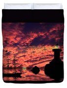 Guiding The Way Duvet Cover by Shane Bechler