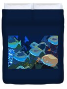 Gulf Stream Duvet Cover by David Lee Thompson