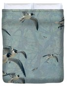 Gulls Duvet Cover by James W Johnson