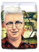 Gurney J. Godrey Duvet Cover by John D Benson