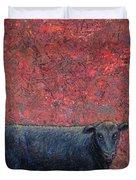 Hamburger Sky Duvet Cover by James W Johnson