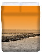 Hamels Duvet Cover by Trish Tritz