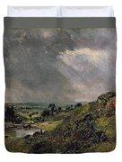 Hampstead Heath Duvet Cover by John Constable
